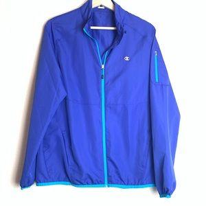 Champion Lightweight Windbreaker Zip up Jacket